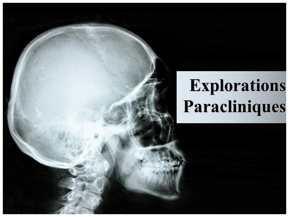 Explorations Paracliniques