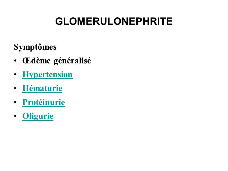 Syndrome néphrotique On recherche une hématurie associée,qui définit alors un syndrome néphrotique impur a laquelle s ajoute habituellement : Hypercoagulabilité Hypertriglycéridémie Hypercholestérolémie