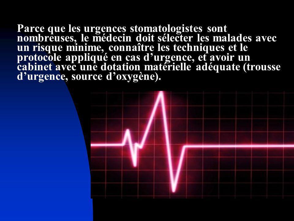 - A ces malades est interdite toute intervention saignante dans des conditions ambulatoires.