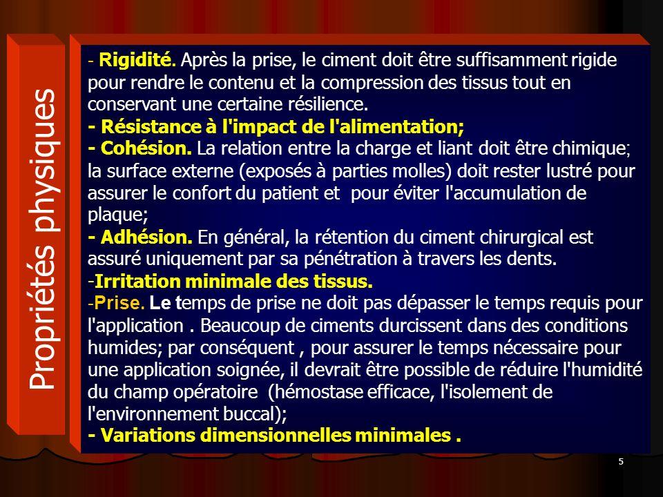 6 Propriétés biologiques Action hémostatique.