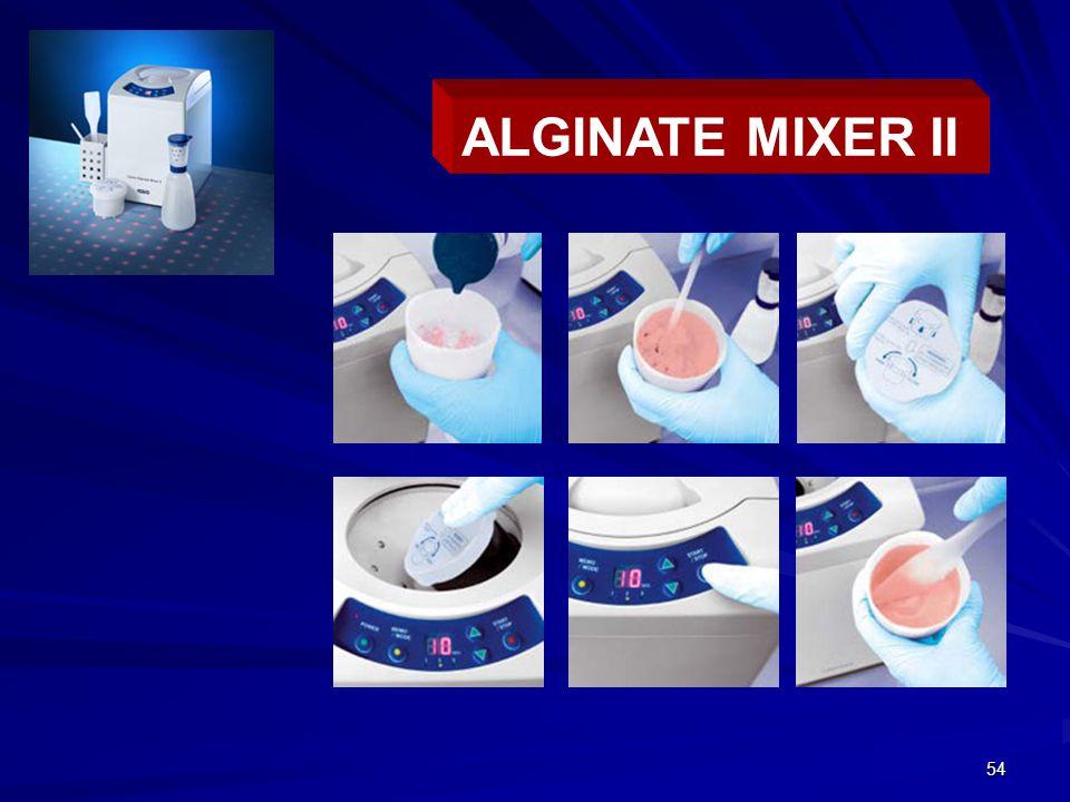 54 ALGINATE MIXER II