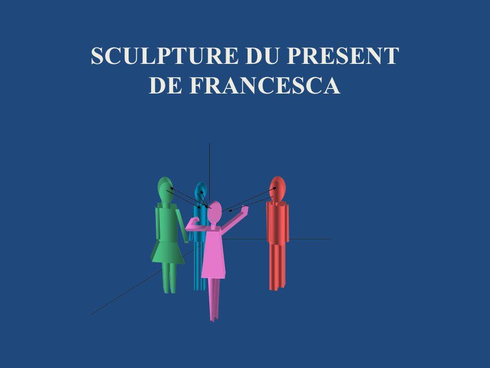 SCULPTURE DU PRESENT DE FRANCESCA