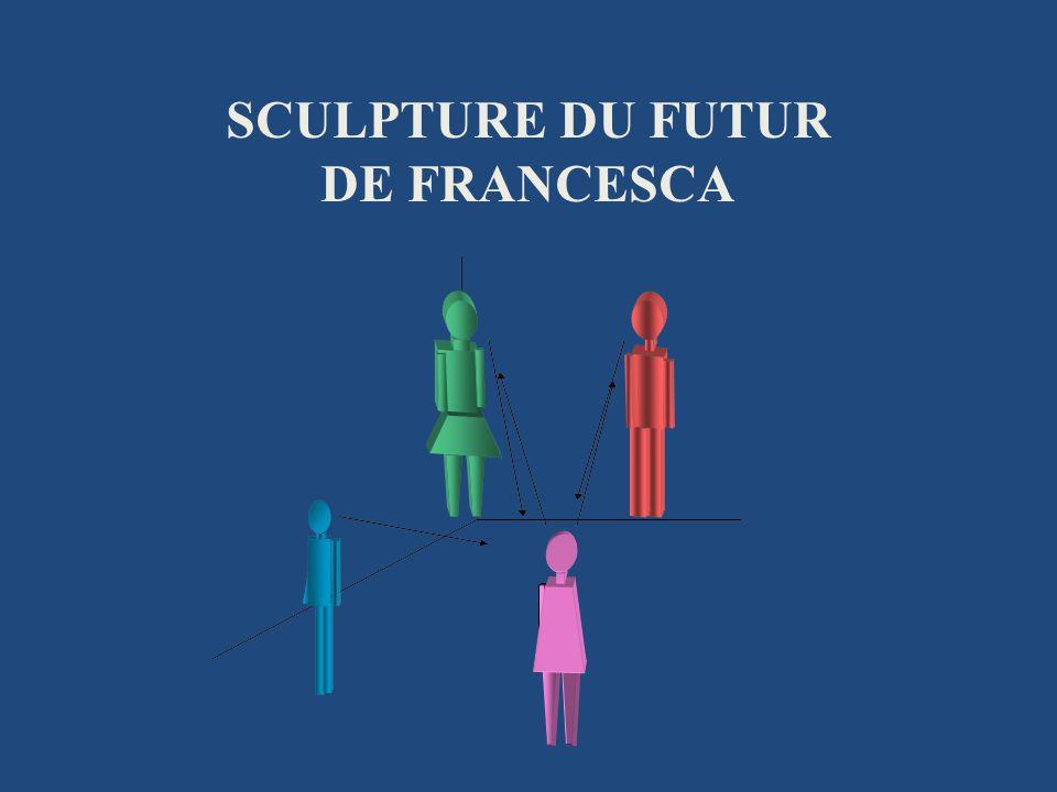 SCULPTURE DU FUTUR DE FRANCESCA