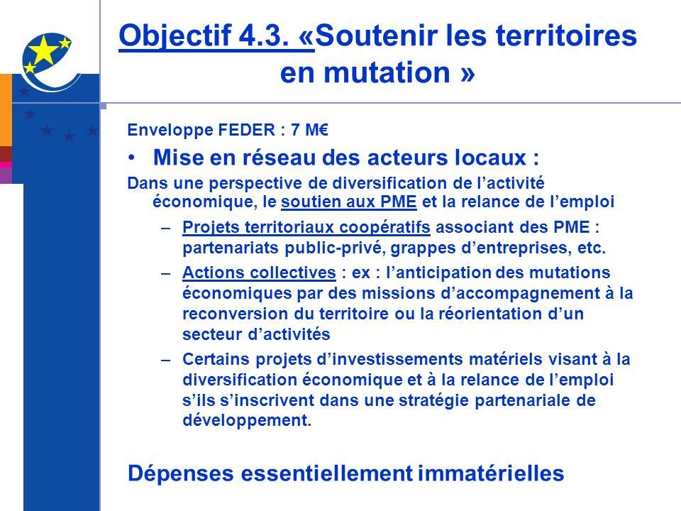 Objectif 4.3.