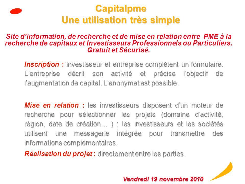 Intérêt dAEM pour les PME bénéficiaires bénéficiaires Bénéficier de CAPITAUX PROPRES « patients » dune durée qui peut courir jusquà 8 ans Bénéficier d