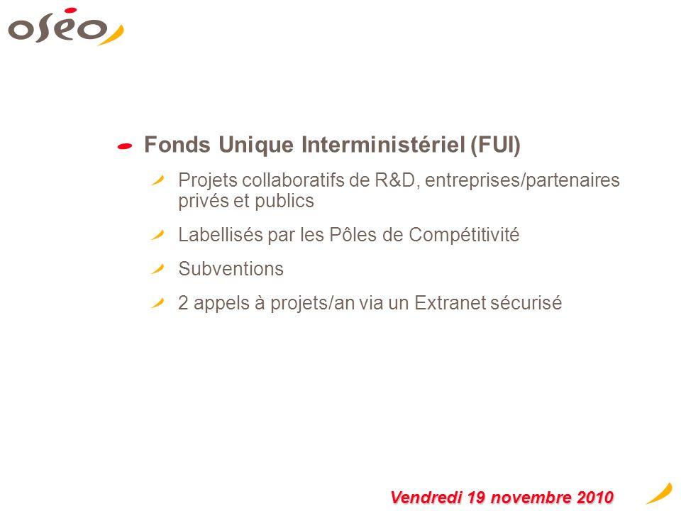 Innovation Stratégique Industrielle (ISI) Rupture technologique Finalité industrielle Projets collaboratifs Aide de 3 à 10 M Subventions et avances re