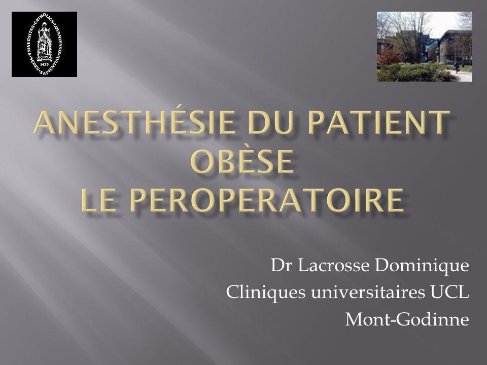 Dr Lacrosse Dominique Cliniques universitaires UCL Mont-Godinne