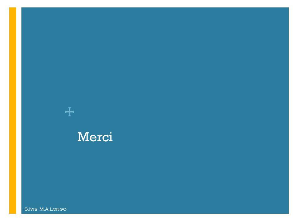 + S.Ivis M.A.Longo Merci