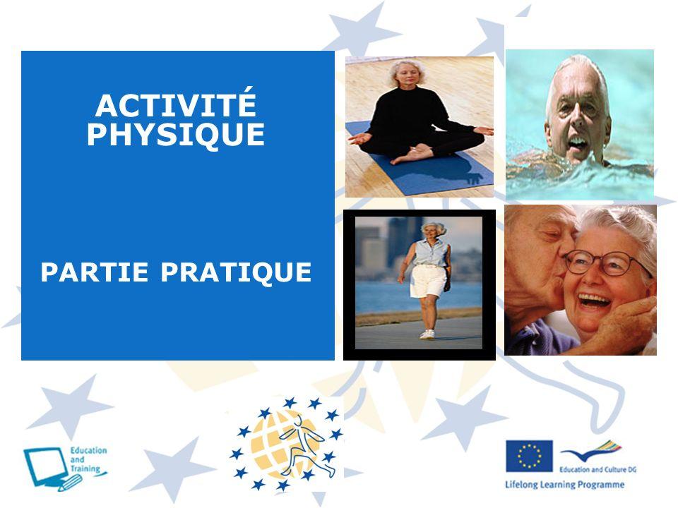 ACTIVITÉ PHYSIQUE PARTIE PRATIQUE