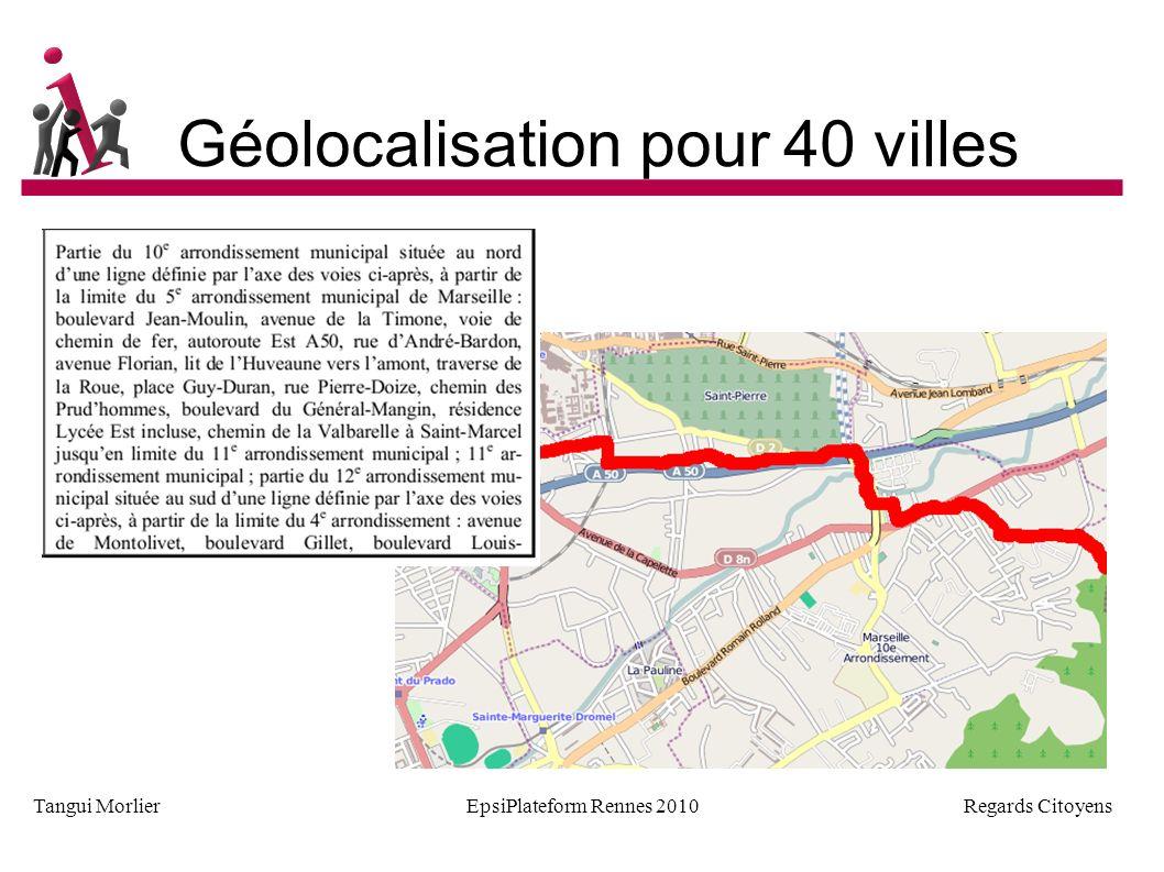 Regards Citoyens Tangui MorlierEpsiPlateform Rennes 2010 Des formats très variés