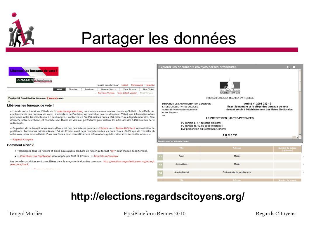 Regards Citoyens Tangui MorlierEpsiPlateform Rennes 2010 Nouveaux usages