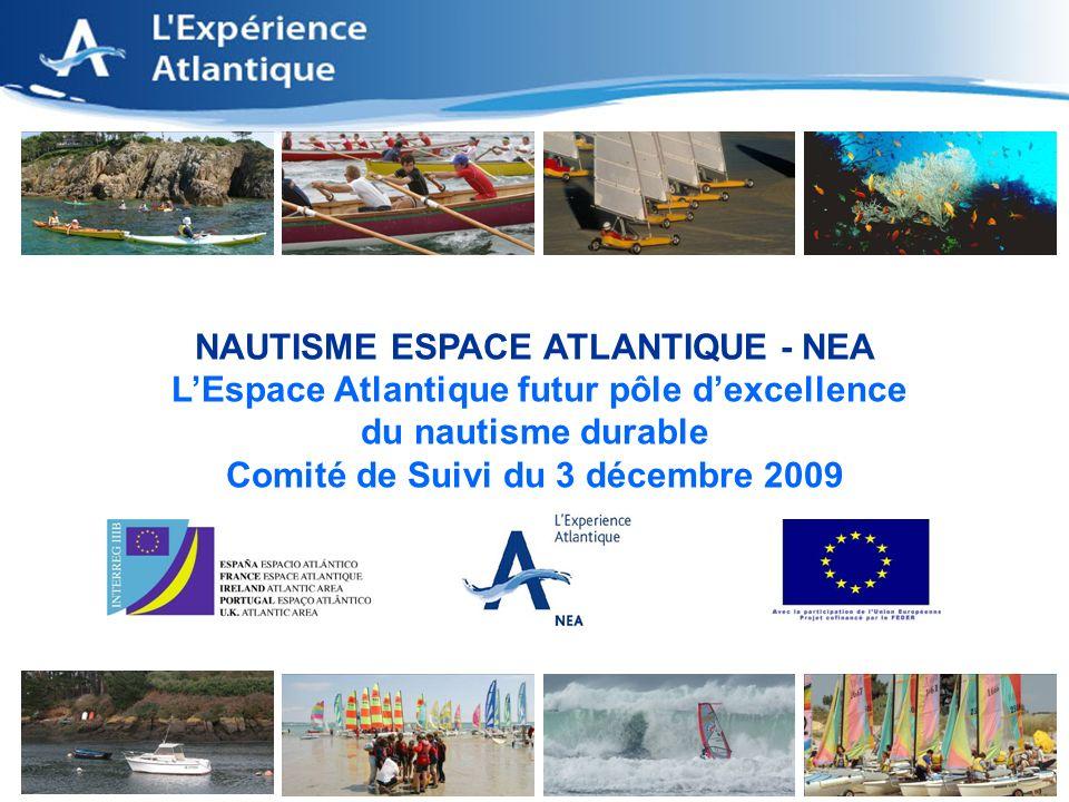 1 NAUTISME ESPACE ATLANTIQUE - NEA LEspace Atlantique futur pôle dexcellence du nautisme durable Comité de Suivi du 3 décembre 2009