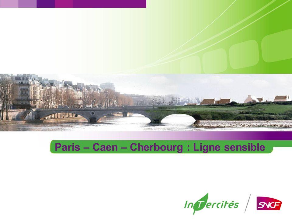 Paris – Caen – Cherbourg : Ligne sensible