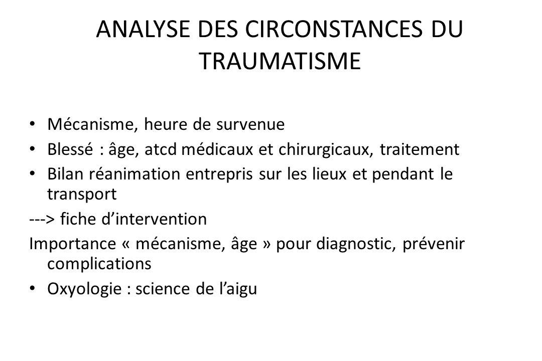 TRAUMATISMES THORACIQUES Etude séméiologique: – Clinique – Facteurs de gravité – Bilan lésionnel Conduite à tenir devant traumatisme grave du thorax: