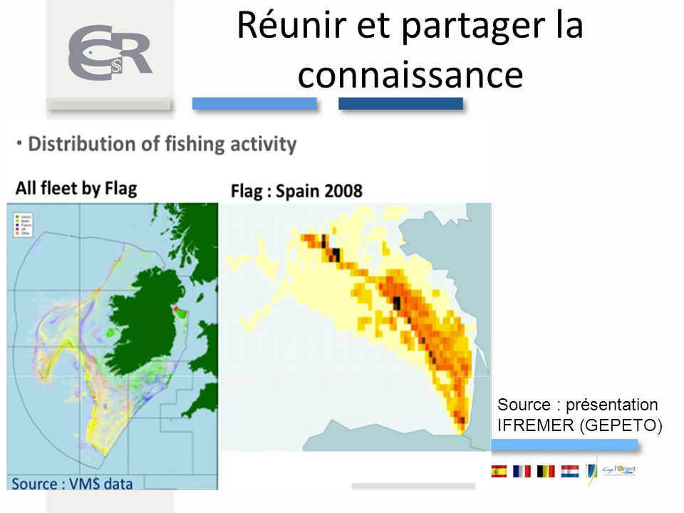 Une connaissance fragmentée et non disponible GREEN PAPER – Marine Knowledge 2020 from seabed mapping to ocean forecasting (29.08.12) easier access to fisheries data has not happened « The Commission […]proposes that the Data Collection Framework for Fisheries shift from centralised to shared management, so that Member States take over responsibility for managing funding and monitoring implementation from the Commission »