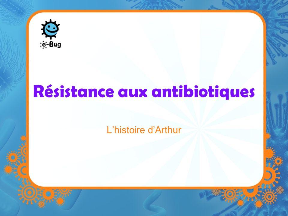 Résistance aux antibiotiques Lhistoire dArthur