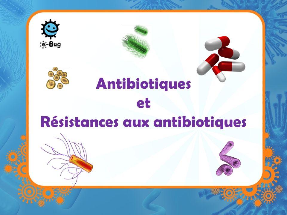 Antibiotiques et Résistances aux antibiotiques