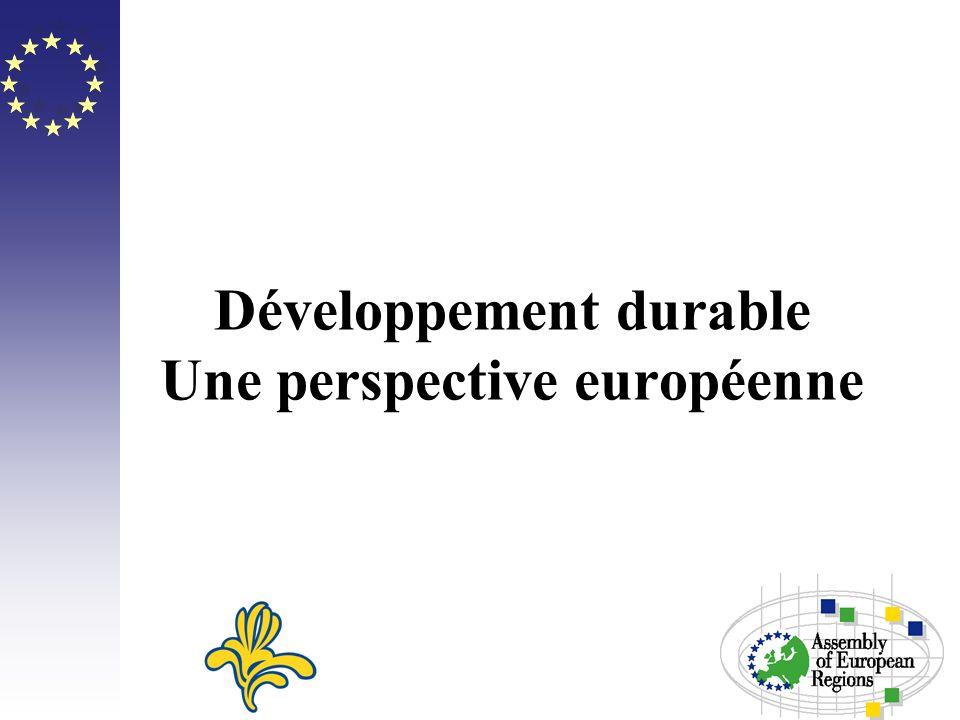 Développement durable Une perspective européenne