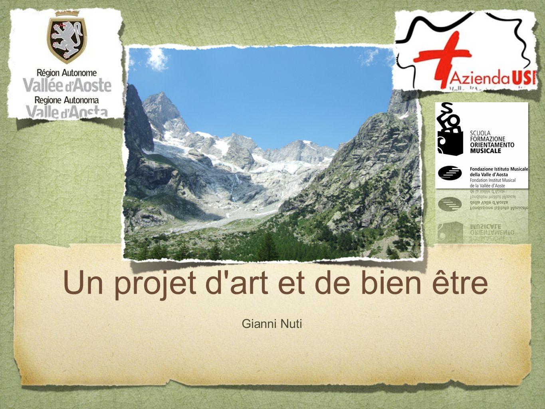 Un projet d art et de bien être Gianni Nuti