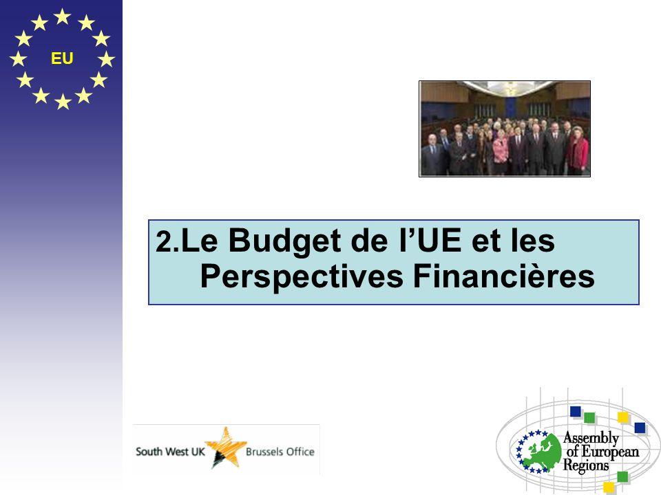 EU 2. Le Budget de lUE et les Perspectives Financières