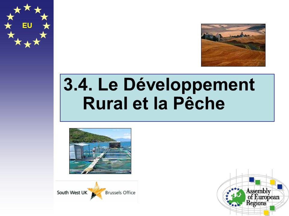 EU 3.4. Le Développement Rural et la Pêche