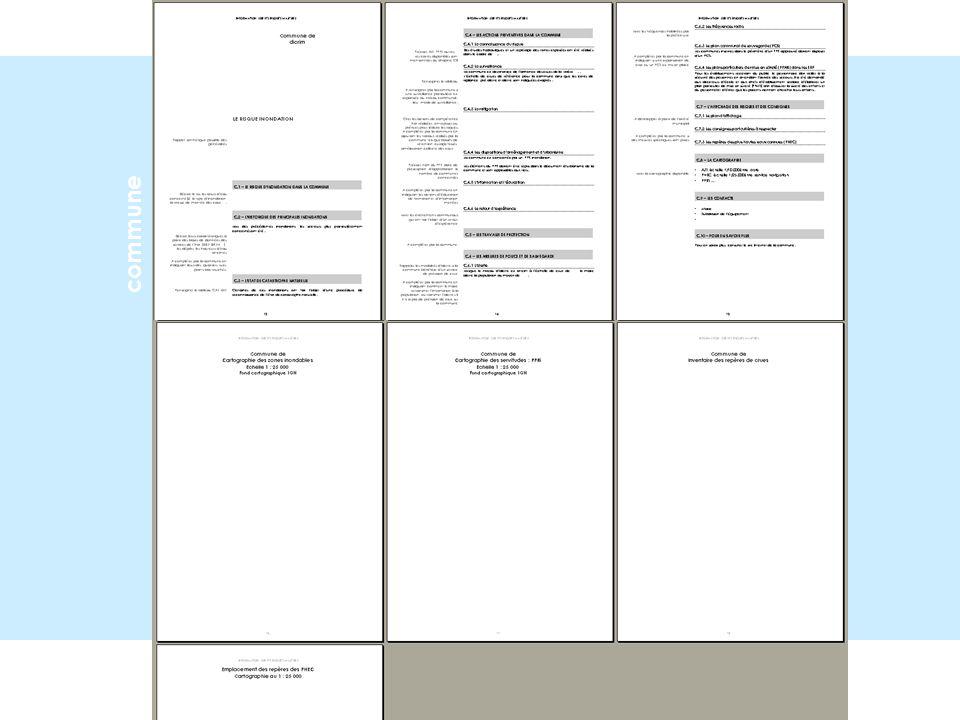 DDRM. dicrim maquette nationale Code de lenvironnement R.125 -10