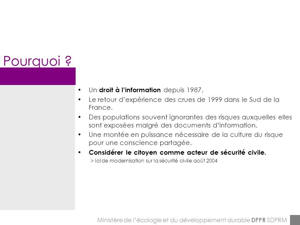ENPC-7&8-12-2005 Pourquoi .