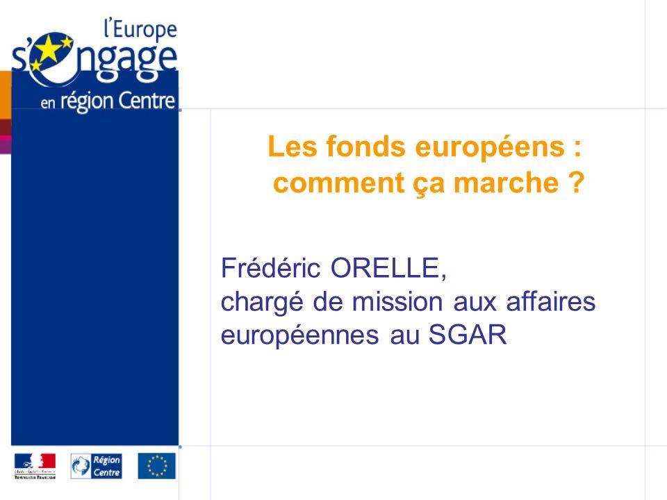Les fonds européens : comment ça marche .