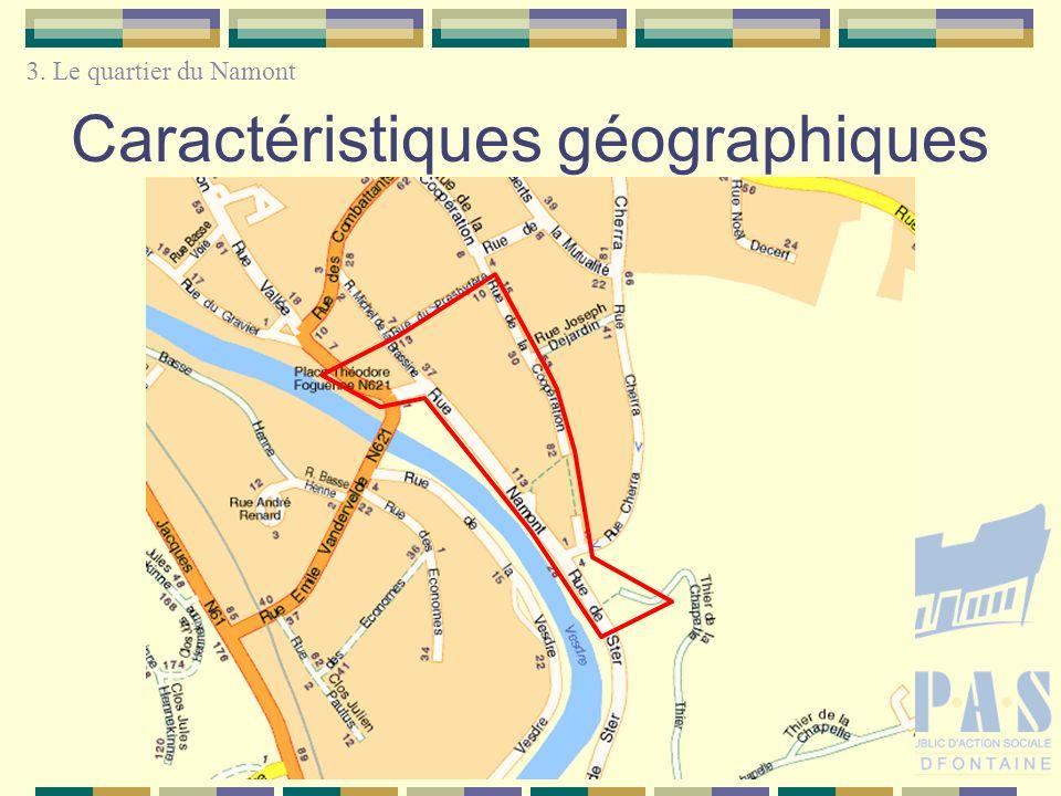 Caractéristiques géographiques 3. Le quartier du Namont