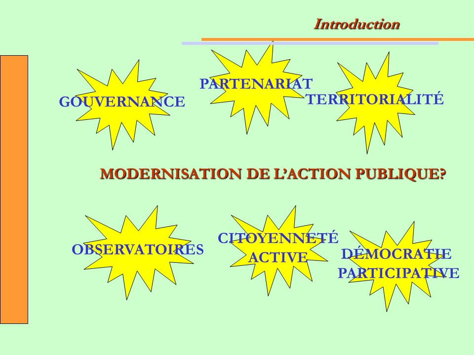 MODERNISATION DE LACTION PUBLIQUE.