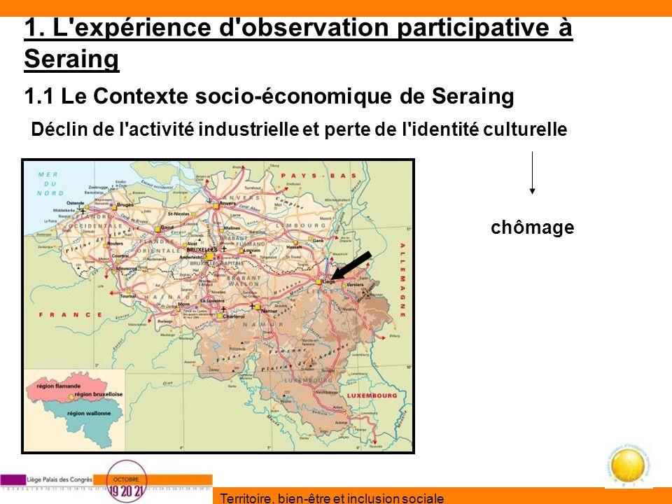 Territoire, bien-être et inclusion sociale 1.