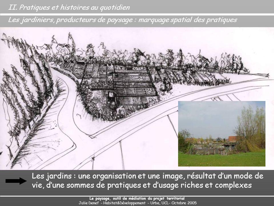 Regards croisés des acteurs sur les jardins et sur le projet 17 Entretiens semi-dirigés de 3 types dacteurs : Des questions sur les jardins, sur les jardins de Carpeaux, sur la place des jardins dans le projet.