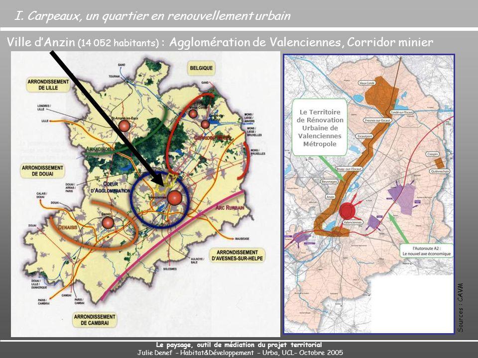Beuvrages Anzin Carpeaux Bruay-sur-Escaut Valenciennes I.