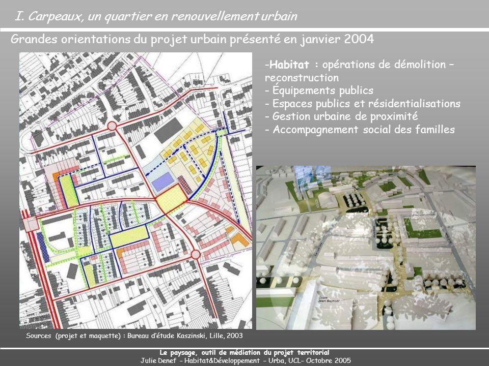Les terrains occupés par les jardiniers = des terrains « libres », un foncier disponible pour le projet Dans lATU 2003 : un jardinier sindigne...