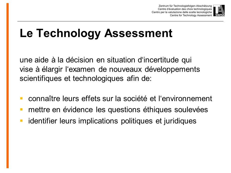 www.oeko.de Mission de TA-SWISS Faciliter la prise de décision politique dans le domaine des nouvelles technologies Tâche ancrée dans la loi fédérale sur la recherche (loi sur la recherche, LR)