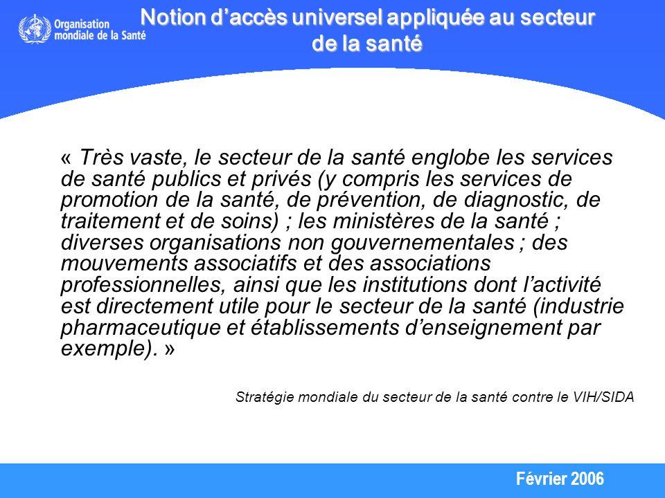 Février 2006 Orientations stratégiques de lOMS 2006-2010 1.