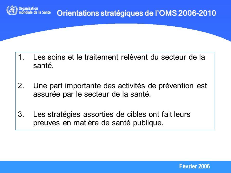 Février 2006 4.Les démarches de santé publique permettent de renforcer rapidement les interventions de qualité.