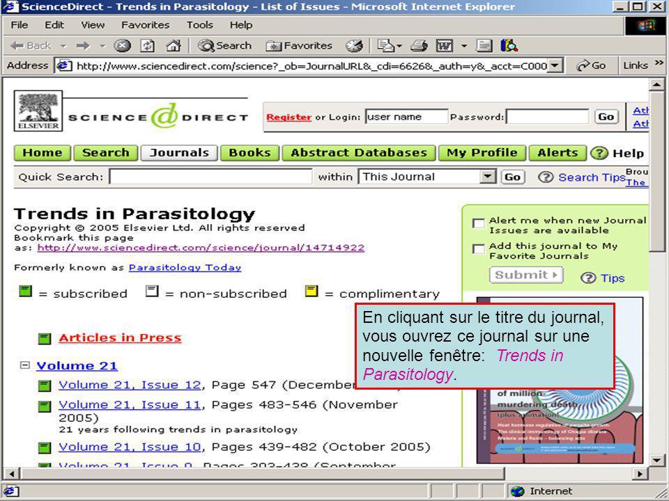 Science Direct 2 En Recherche Avancée, ScienceDirect nous permet de rechercher à travers All Sources (toutes sources), Journals (journaux), Books and Images (livres et images) au sein même de la collection de Elsevier Science.
