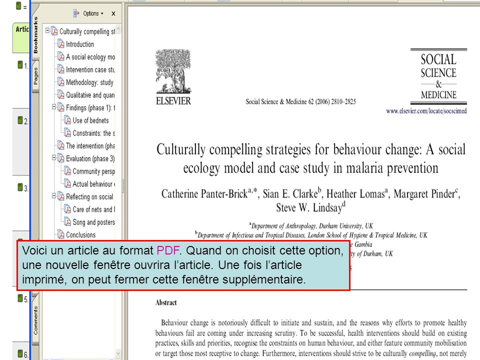 ScienceDirect 9 Voici un article au format PDF.