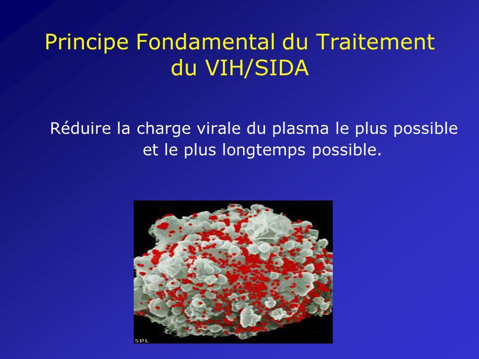 Éléments Fondamentaux du Traitement contre le VIH/SIDA Utilisation des antirétroviraux (ARV) pour prévenir la reproduction du virus du VIH dans les cellules.