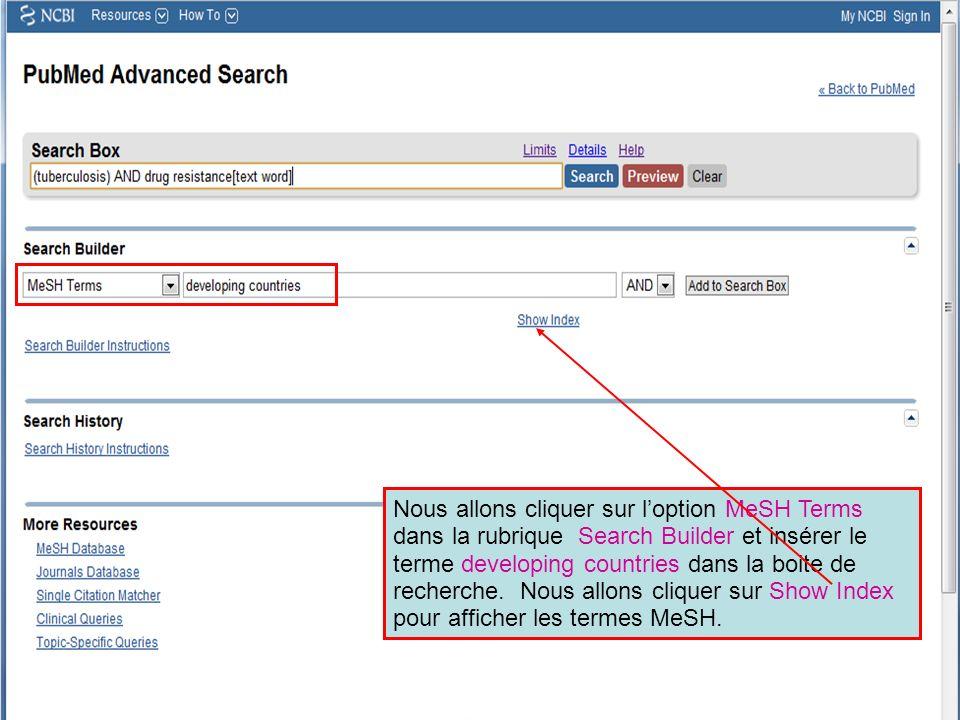 Pour accéder à My NCBI, vous aurez besoin de vous Connecter (Sign In) avec votre Nom dUtilisateur et votre Mot de Passe.