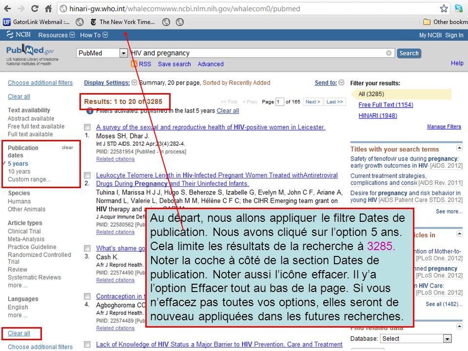 Dans le filtre, Personnaliser lintervalle des dates (Specify Custom Date Range), nous avons entré un intervalle de six mois (2011/12/15 to 2012/05/15) et cliqué sur lîcone Appliquer (Apply).