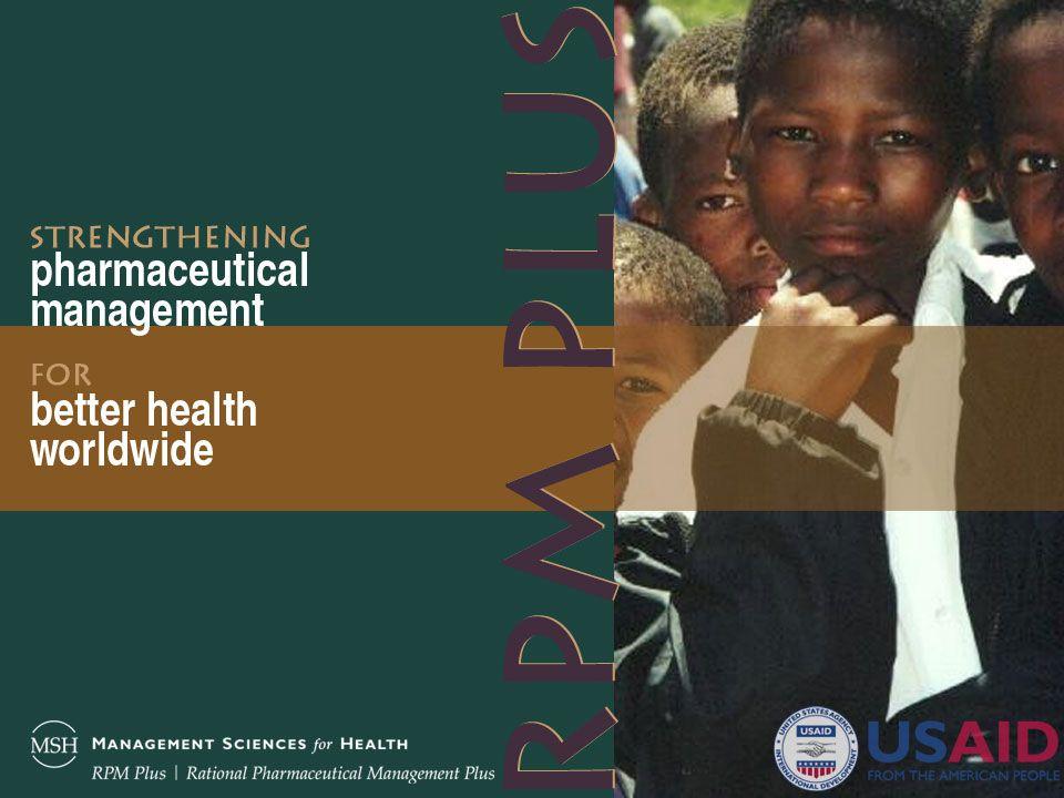 Stratégies damélioration de lobservance du traitement VIH/SIDA, de la tuberculose et du paludisme Emmanuel Y.