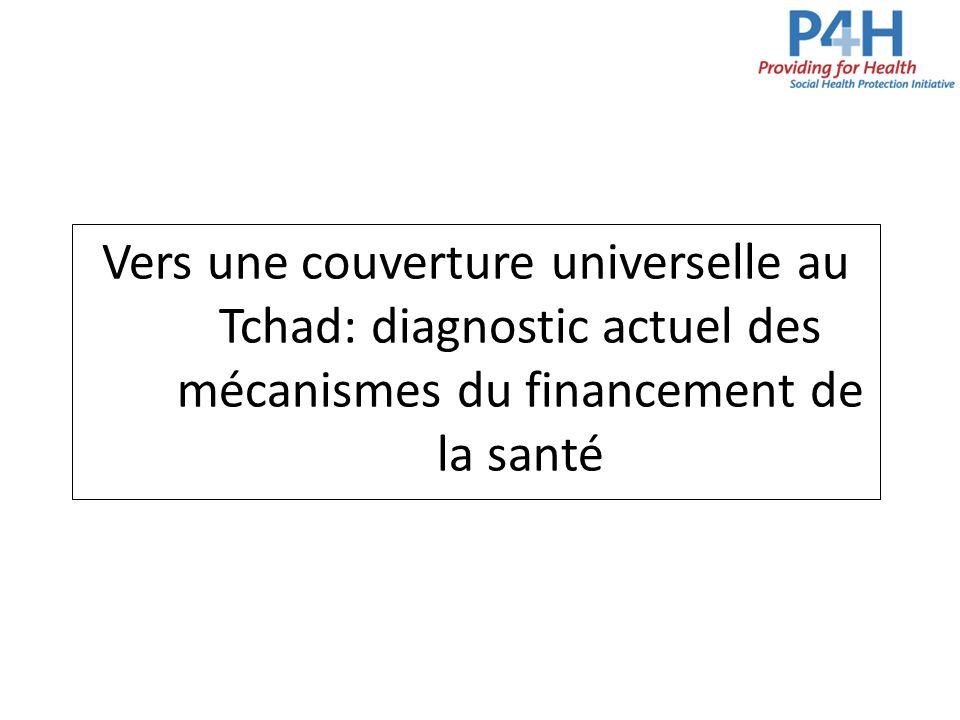 Vers une couverture universelle au Tchad: diagnostic actuel des mécanismes du financement de la santé
