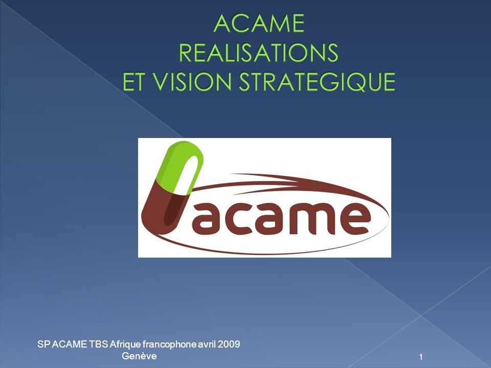SP ACAME TBS Afrique francophone avril 2009 Genève 1