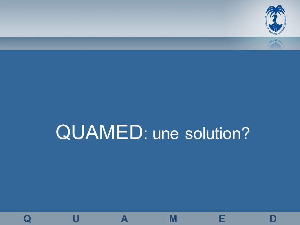 QUAMED : une solution Q U A M E D