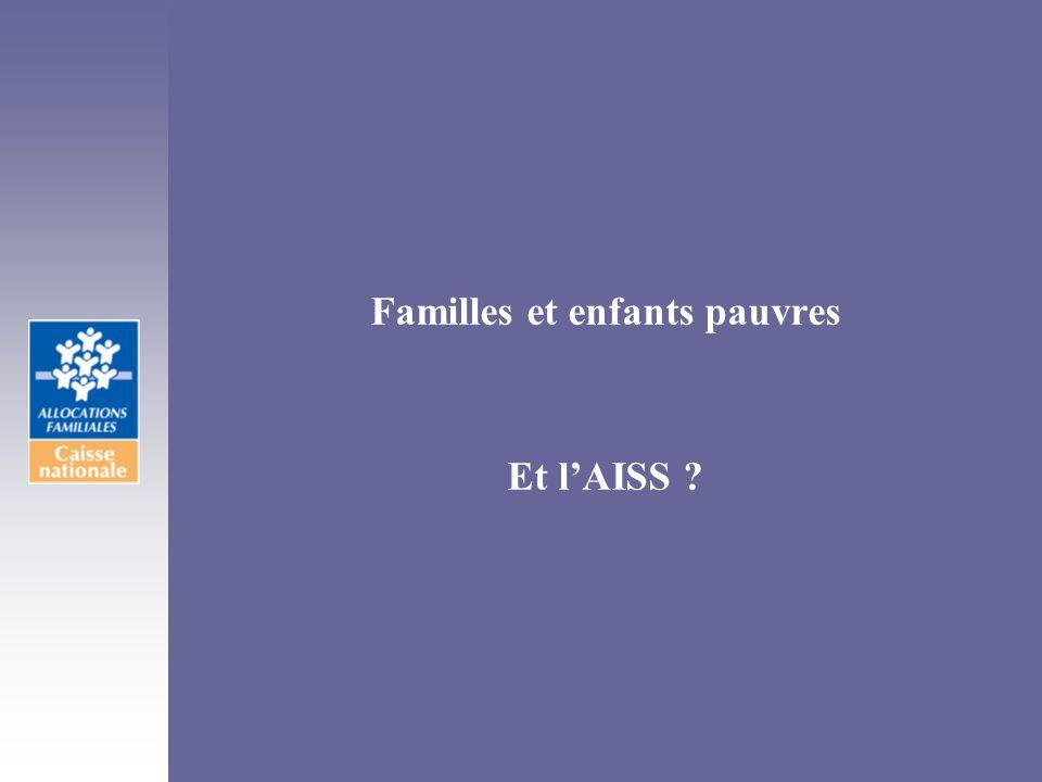 Familles et enfants pauvres Et lAISS ?