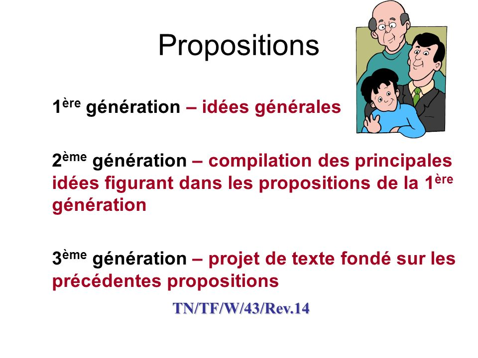 TN/TF/W/43 Principaux domaines couverts Groupes de mesures relevant de ces domaines Sous-catégories de mesures relevant de ces groupes (le cas échéant