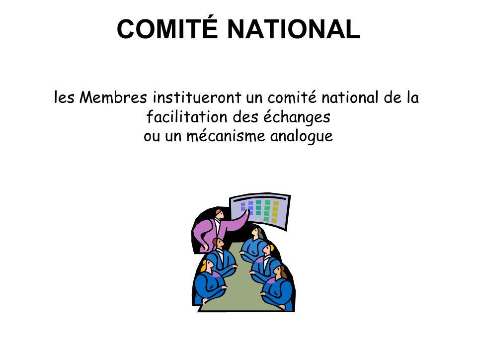 M.Coopération douanière La coordination/mécanisme déchange de renseignement Mettre en place un mécanisme multilatéral pour l'échange et le traitement