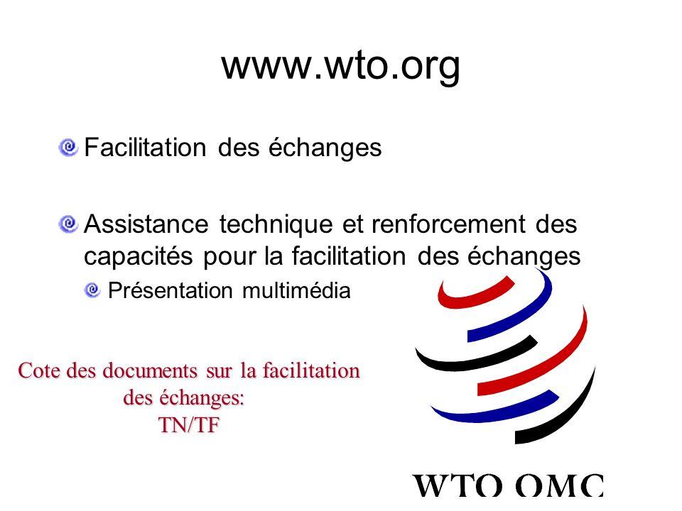 Principales demandes des pays en développement/PMA : Niveau d'ambition plus prudent TSD allant au-delà des périodes de transition traditionnelles Gran